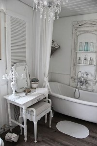 26 Adorable Shabby Chic Bathroom Dcor Ideas - Shelterness