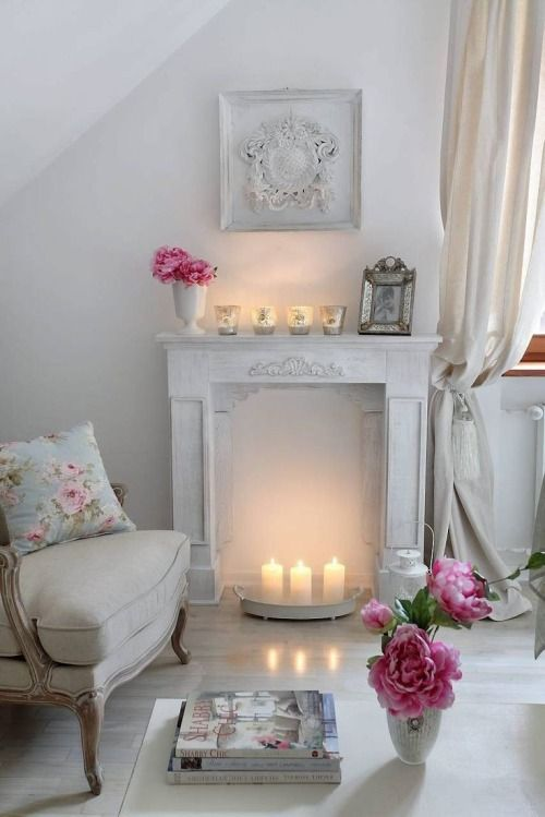 26 Charming Shabby Chic Living Room Dcor Ideas  Shelterness