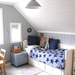 Rustic Modern Living Room Decor Ideas What Size Rug Do I Need In My 30 Cozy Attic Kids Rooms And Bedrooms - Shelterness