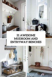 31 Awesome Mudroom And Entryway Benches - Shelterness