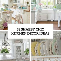 Decorating Kitchen Table Sets 32 Sweet Shabby Chic Decor Ideas To Try Shelterness Cover