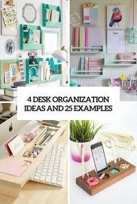 diy desk organizers Archives - Shelterness