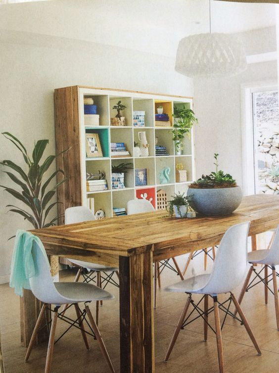 colorful kitchen table factory direct cabinets 35 diy ikea kallax shelves hacks you could try - shelterness