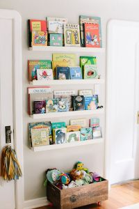 25 Space-Saving Kids Rooms Wall Storage Ideas - Shelterness