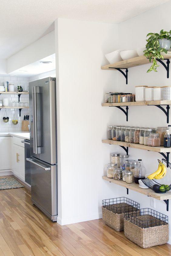 27 Smart Kitchen Wall Storage Ideas  Shelterness