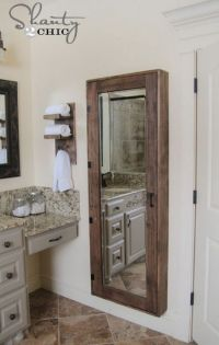 26 SImple Bathroom Wall Storage Ideas - Shelterness