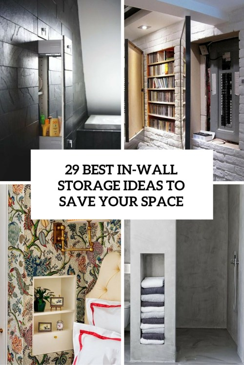 small resolution of best in wall storage ideas to save your space cover