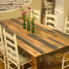 Diy Pallet Living Room Furniture Indian Interior Design Pictures 13 Easy And Cost Effective Dining Tables Shelterness Shipping Pallets Table Via Https