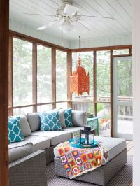 screened porch decorating ideas | Decoratingspecial.com