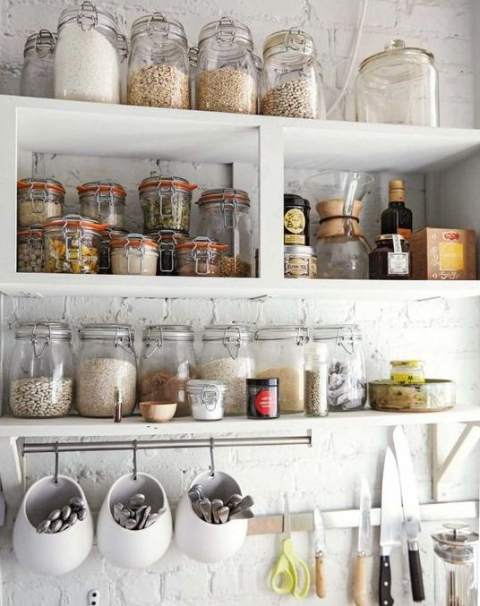 23 Smart Ways To Use IKEA Jars At Home Shelterness