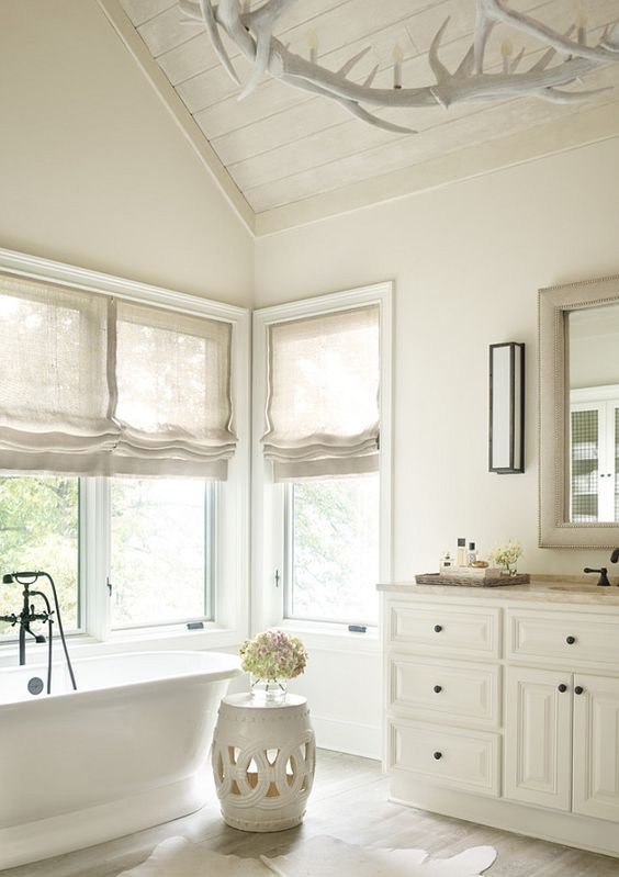 3 Bathroom Window Treatment Types And 23 Ideas Shelterness