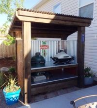 21 Grill Gazebo, Shelter And Pergola Designs - Shelterness