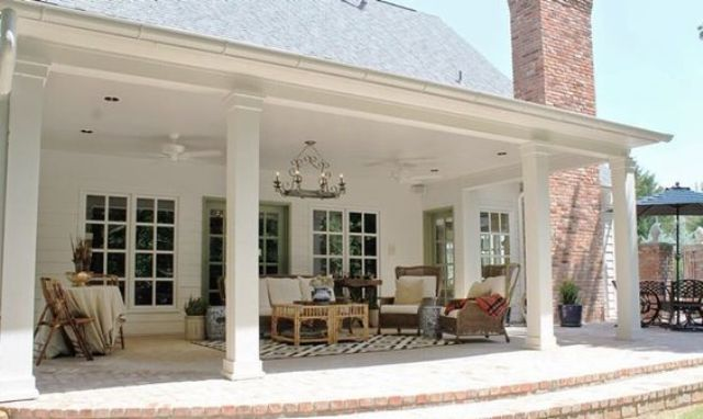Porch Chairs Back