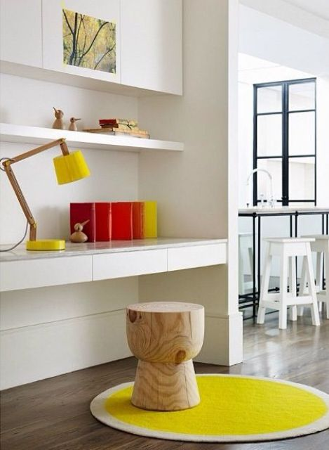 kids chair desk 2016 acura mdx captains chairs 24 ways to decorate and organize a kids' study nook - shelterness