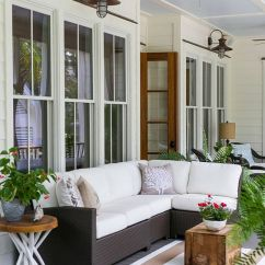 Front Porch Lounge Chairs Serta Office 27 Screened And Roofed Back Decor Ideas - Shelterness