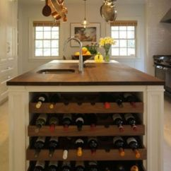 Kitchen Wine Rack Space Saving Sinks 26 Storage Ideas For Those Who Don T Have A Cellar Shelterness Island With Built In