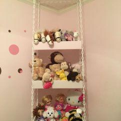 Ikea Metal Kitchen Shelves Cosco Stool 26 Comfy Stuffed Toys Storage Ideas - Shelterness