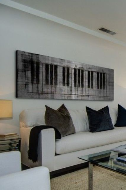 25 Creative Home Dcor Ideas For Music Lovers  Shelterness