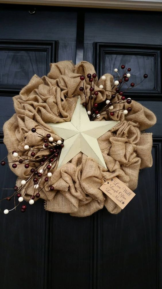 Decorating Your Home With Burlap 32 Cozy Ideas  Shelterness