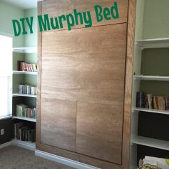 Wall Sofa Bed Mumbai Sets For Living Room In Chennai 10 Smart Diy Murphy Beds Tight Spaces - Shelterness