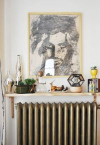 24 Cool Shelf Ideas To Embrace Your Radiator - Shelterness