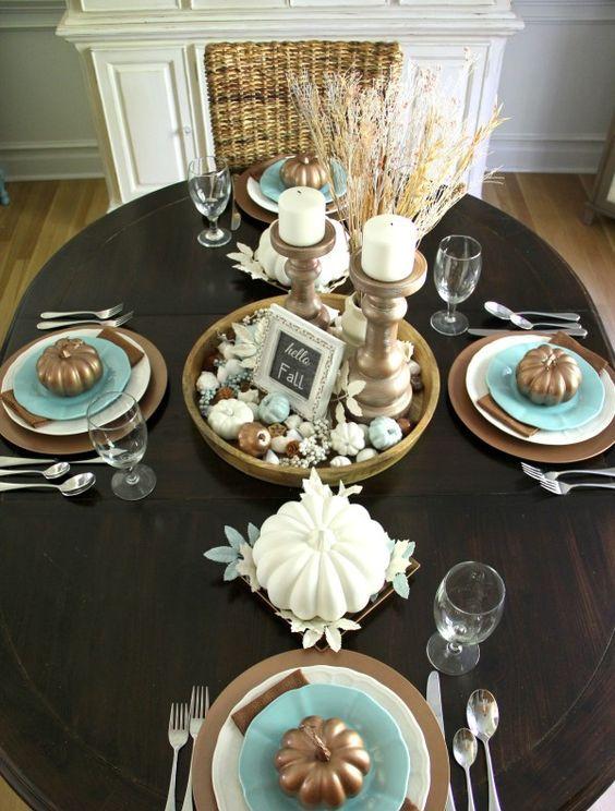 25 Coastal Thanksgiving Dcor Ideas  Shelterness
