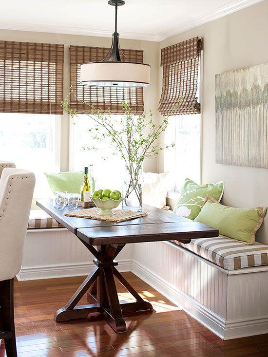 elegant kitchen curtains valances backsplash marble 3 window treatment types and 23 ideas - shelterness