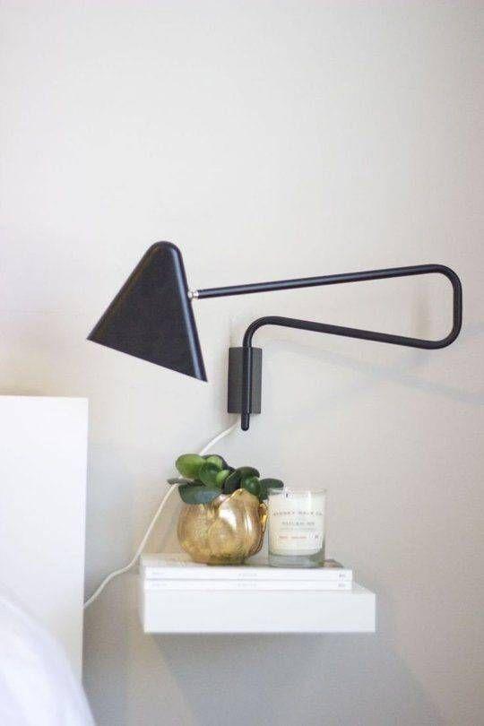 24 Creative And EyeCatchy Bedside Table Alternatives  Shelterness