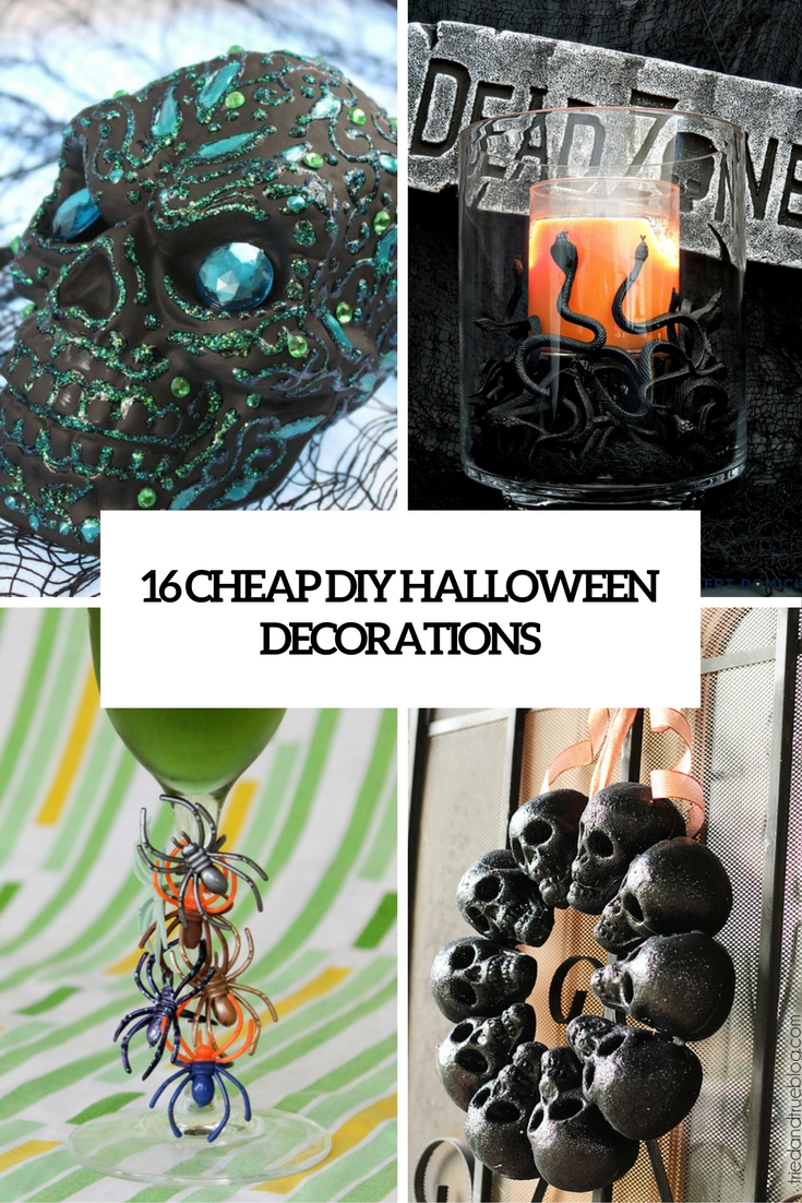 16 Cheap DIY Halloween Decorations That Wont Break The