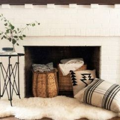 Great Living Room Furniture Ideas Window Curtains 24 Cozy Faux Fireplace And Mantel Decor - Shelterness