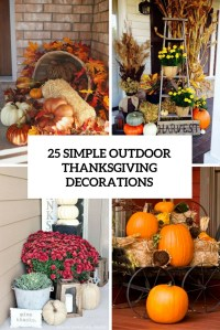 Photos Of Outdoor Thanksgiving Decorations - Outdoor Designs