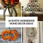 26 Rustic Horseshoe Home Decor Ideas Shelterness