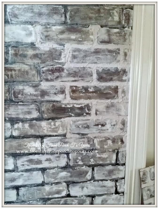 10 DIY Faux And Real Exposed Brick Walls