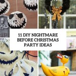11 Diy Nightmare Before Christmas Halloween Party Ideas Shelterness