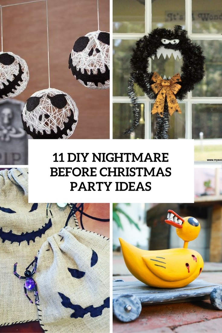 The Nightmare Before Christmas Decoration Ideas ...