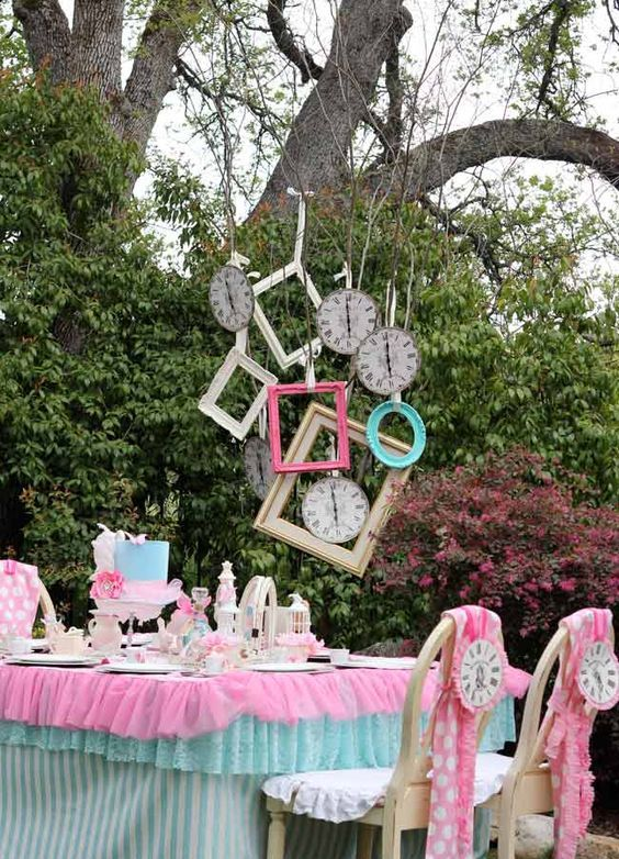 32 Kids' Alice In Wonderland Party Ideas Shelterness
