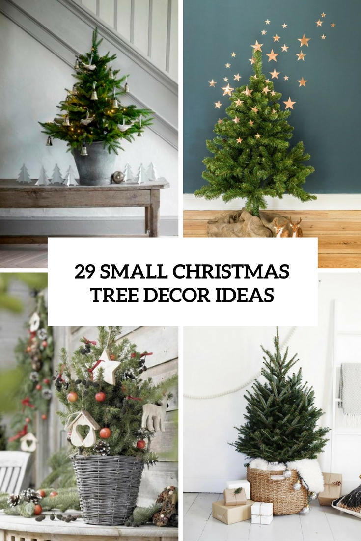 29 small christmas tree