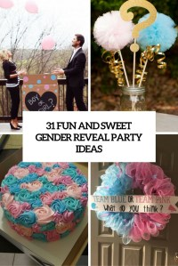 31 Fun And Sweet Gender Reveal Party Ideas - Shelterness