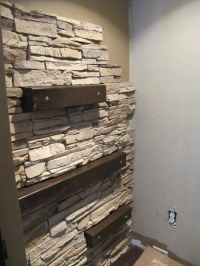 7 Chic DIY Stone And Faux Stone Accent Walls - Shelterness