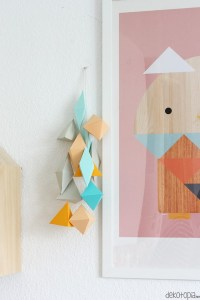 14 Eye-Catchy DIY Paper Wall Dcor Ideas - Shelterness
