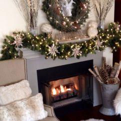 Chair Cover Christmas Decorations Royal Covers 24 Cozy Faux Fur Décor Ideas - Shelterness