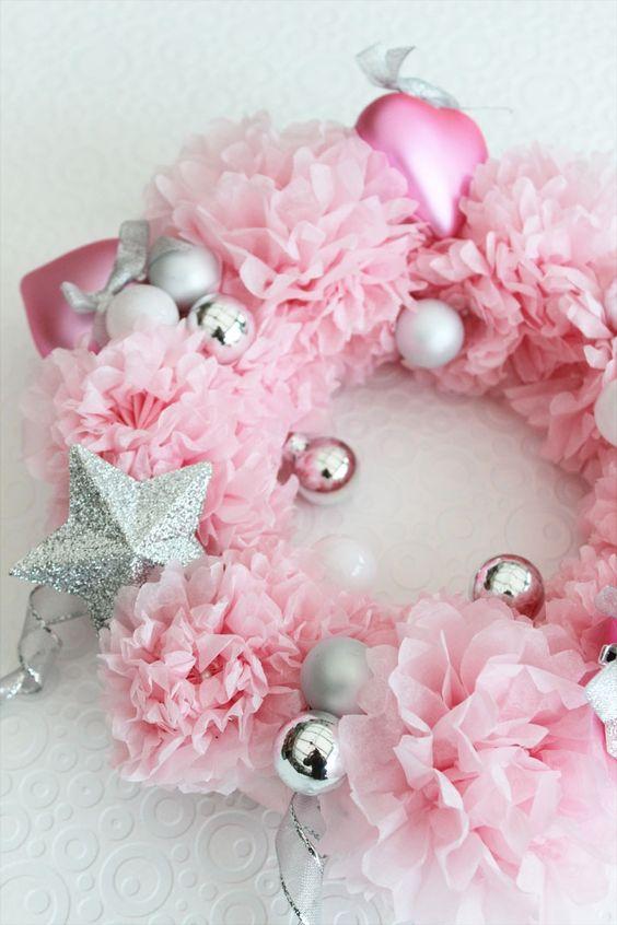 Santa Claus Girl Wallpaper 27 Glam Pink Christmas D 233 Cor Ideas Shelterness