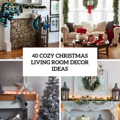 Images Of Christmas Living Room Decorations Colors 2017 Ideas 40 Cozy Decor Shelterness Cover
