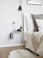 27 Tiny Nightstands For Small Bedrooms   Shelterness