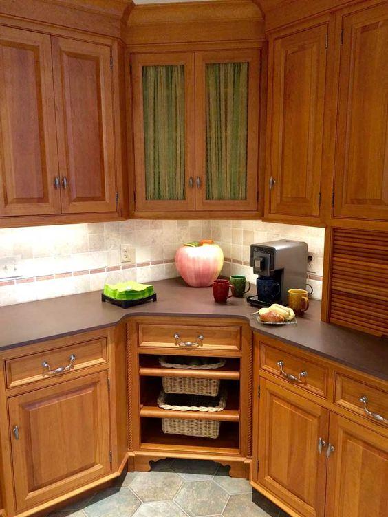 20 Practical Kitchen Corner Storage Ideas Shelterness