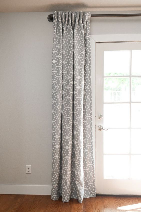ideas to cover french door windows