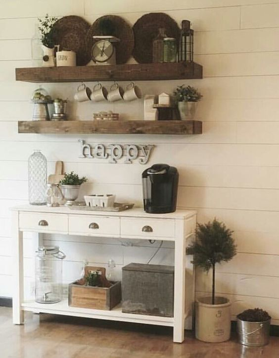 24 Home Coffee And Tea Station Dcor Ideas To Try  Shelterness