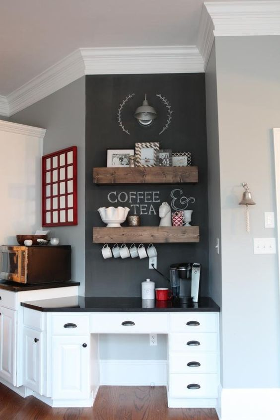Ikea Kitchen Cabinets Layout 24 Home Coffee And Tea Station Décor Ideas To Try