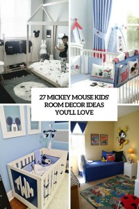 27 Mickey Mouse Kids' Room Dcor Ideas Youll Love ...