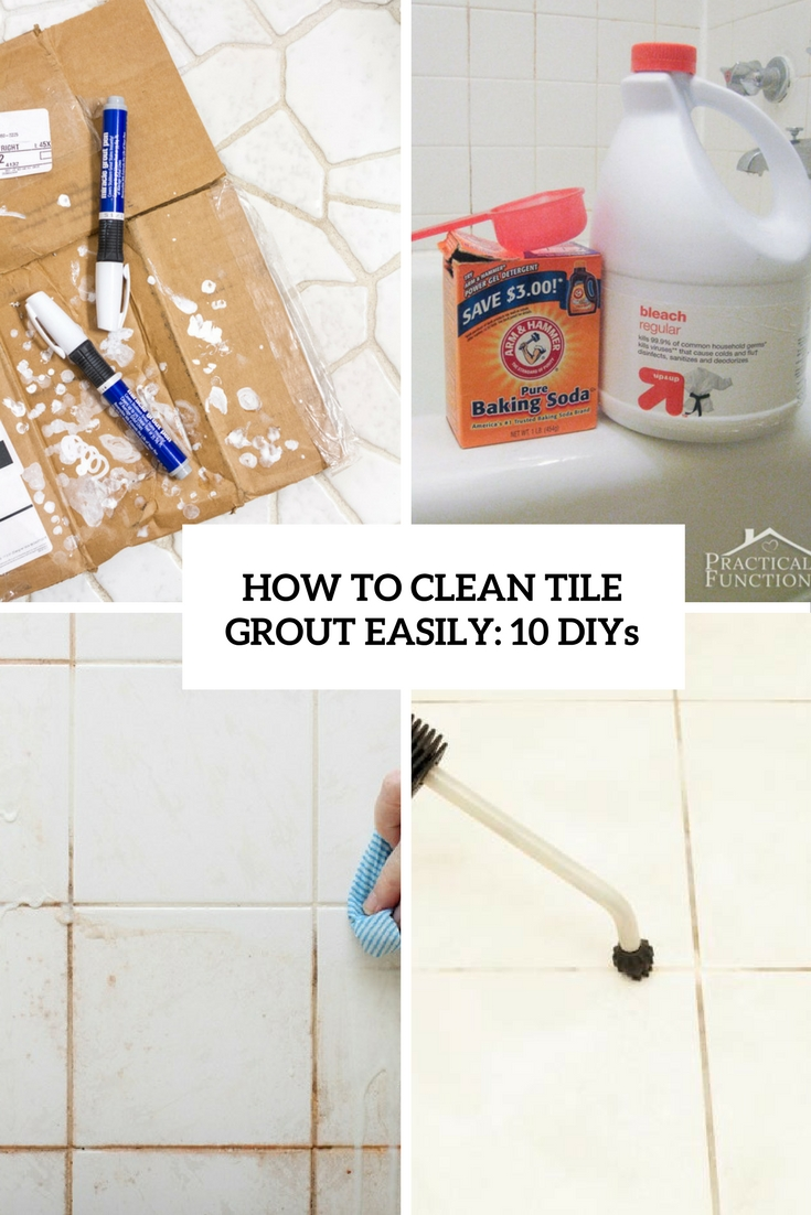 Image Result For Best Way To Clean White Grout On Tile Floors